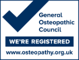 Touch2Heal is registered with the General Osteopathic Council