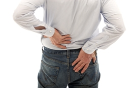 A slipped disc is no laughing matter