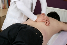 Touch2Heal osteopaths treat back pain